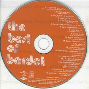 Bardot : The best of / Brigitte Bardot