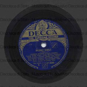Jenny''s ball / Smith. Moscat Ramble / Ory ; [entrambi eseguiti da] George Webb's Dixielanders ; George Webb, piano ; Eddie Harvey, trombone ; Wally Fawkes, clarinetto [et al]