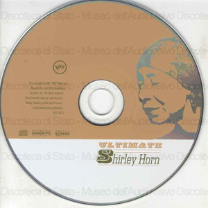 Ultimate / Shirley Horn ; selected by Diana Krall