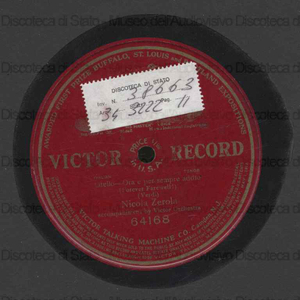 Ora e per sempre addio = Forever Farewell : Otello / Giuseppe Verdi ; Nicola Zerola accompaniment by Victor Orchestra