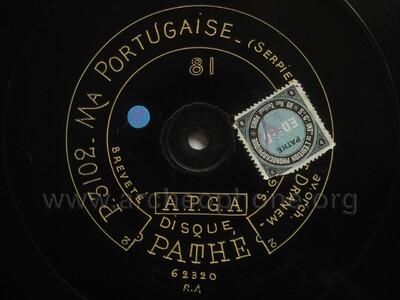 Ma portugaise, chanson d'huitre
