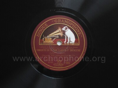 Concerto en fa pour clavecin et orchestre ( Andante ; Presto)