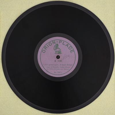 I den gule Lupin ; En sørgelig Kjærlighedsvise - side a
