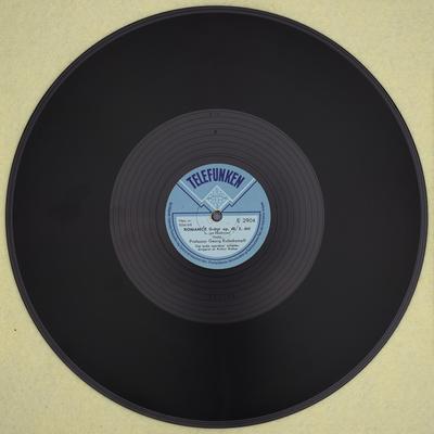 Romance, G-dur, op. 40 - side b