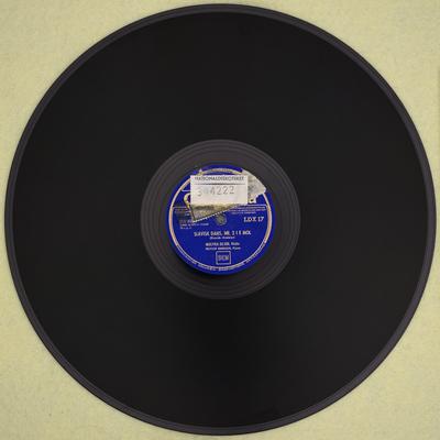 Nocturne, op. 9, Nr. 2 i Es-dur ; Slavisk Dans Nr. 2 i E moll ; side b