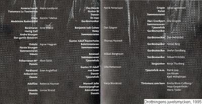 Drottningens juvelsmycken, 1995, Drottningens juvelsmycken