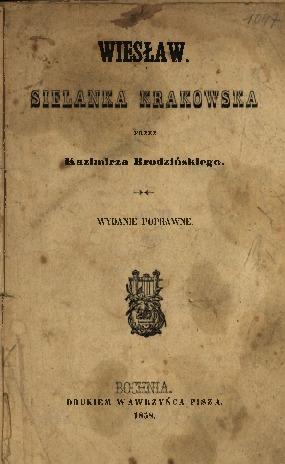 Wiesław : sielanka krakowska