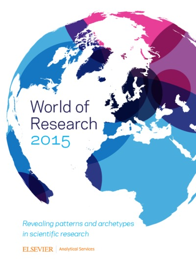 World of research 2015 : revealing patterns and archetypes in scientific research