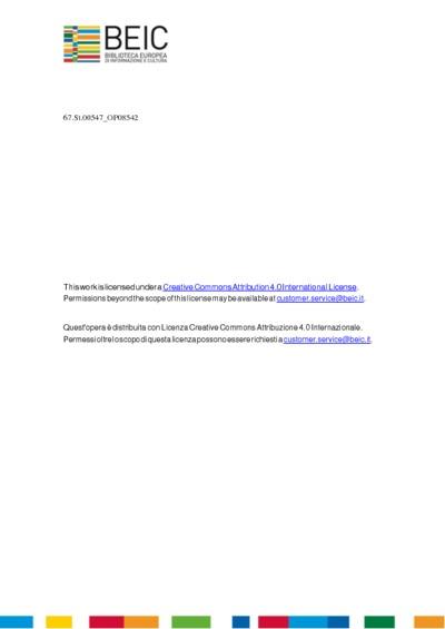 Ordini et regole fatte dall'Illustriss. & Eccellentiss. Signori Marc'Antonio Ivstinian cav., Michiel Foscarini, Gerolamo Corner cav. Per la Serenissima Republica di Venetia, & c. Sindici Inquisitori in T.F. Per la Comunità...