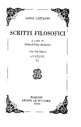 Scritti filosofici. Lezioni. 2. [10]