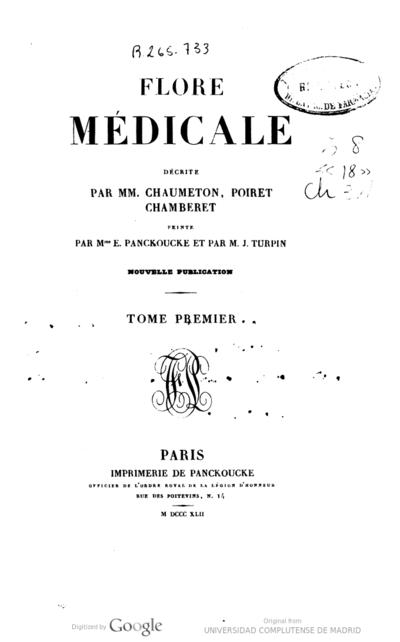 Flore médicale