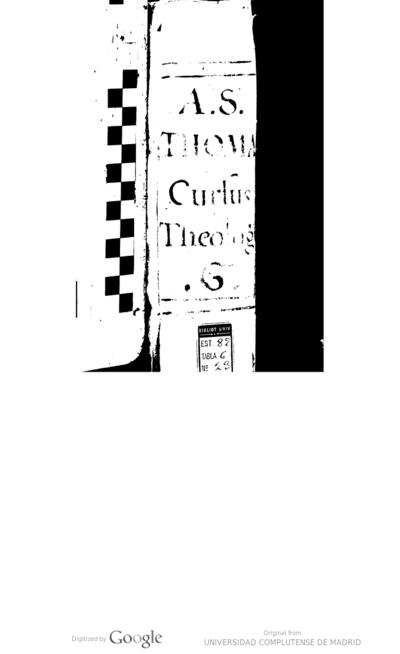 Rmi. P. Ioannis a Sto. Thoma ... Cursus theologici in secundam secundae D. Thomae - Tomus vnicus ...