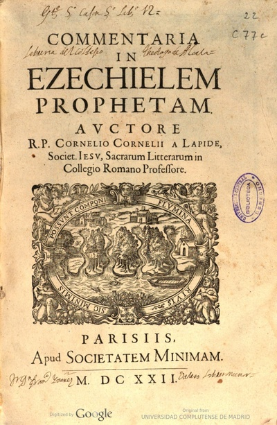 Commentaria in Ezechielem prophetam
