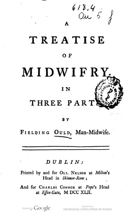 A treatise of midwifry. In three parts