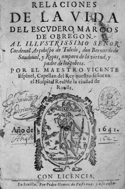Relaciones de la vida del escudero Marcos de Obregon ... [Texto impreso]