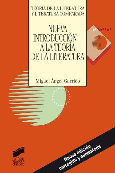 Nueva introducción a la teoría de la literatura [Texto impreso]