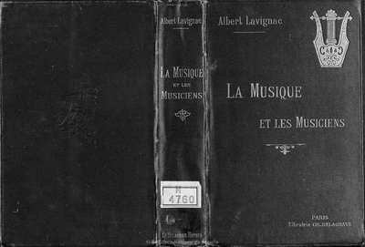 La musique et les musiciens [Texto impreso]