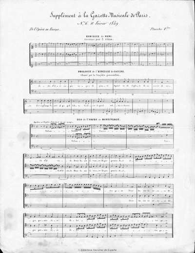 Euridice [Música notada] :]ouverture pour 3 flûtes