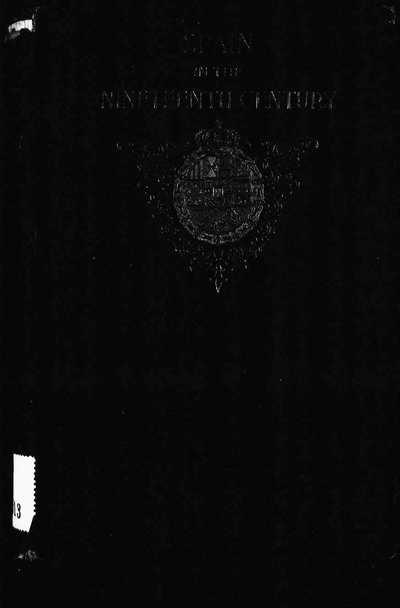 Spain in the nineteenth century [Texto impreso]
