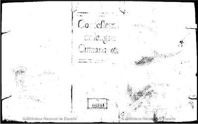 Confessonario de lengua cumanagota y de otras naciones de Indios de la provincia de Cumana [Texto impreso] :]con unas advertencias previas al confessonario para los confessores