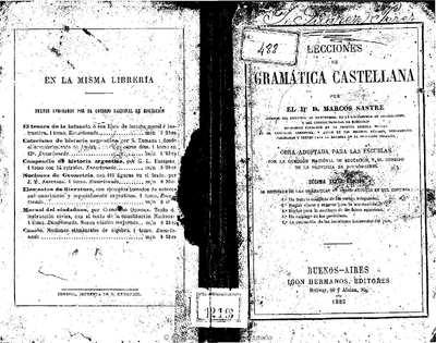 Lecciones de gramática castellana [Texto impreso]