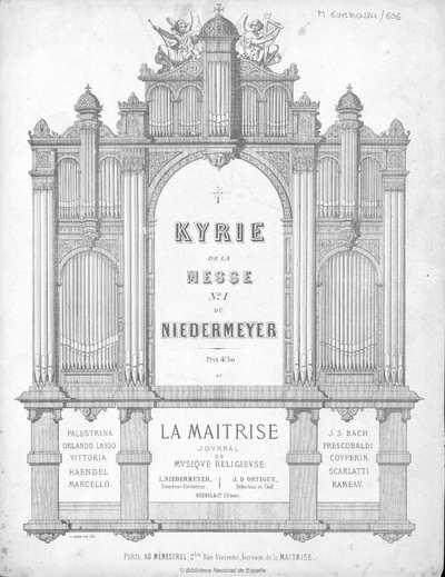 Kyrie de la Messe n. 1 [Música notada]