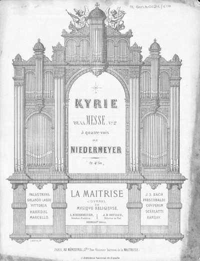 Kyrie de la Messe n. 2 [Música notada] :]à quatre voix