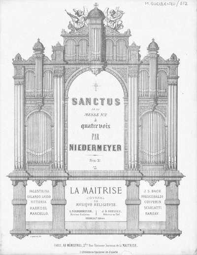 Sanctus de la Messe n. 2 [Música notada] :]à quatre voix