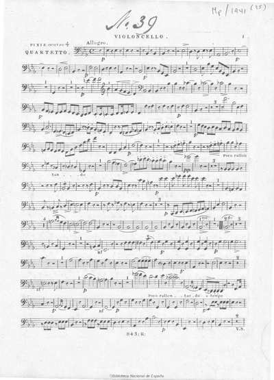 Quartetto [Música notada]