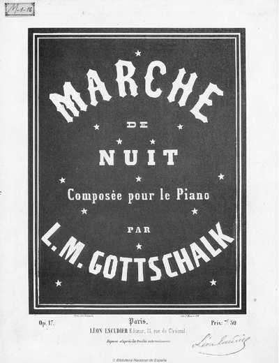 Marche de nuit [Música notada] :]op. 17