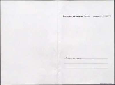 Viento en popa [Manuscrito]: zarzuela cómica en un acto y en prosa. Emp.: ¡Camarero! ¡Camarero! (h. 4)... Fin.: para desembarcar (h. 42v)