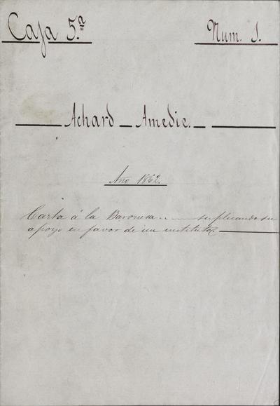 [Carta], 1862 abril 2 [Manuscrito]