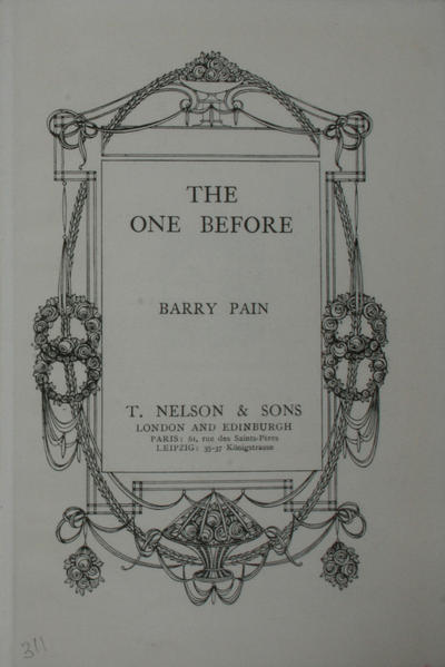 <The >one before
