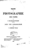 Traité de photographie sur papier