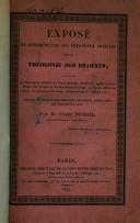 Exposé de quelques-uns des principaux articles de la théogonie des brahmes ..