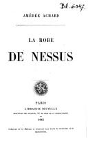 La robe de Nessus