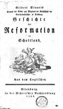 Geschichte der reformation in Schottland