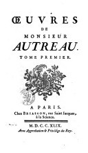 Oeuvres / Autreau, Jacques