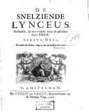 De snelziende Lynceus berispende, op een vrolyke wyze de gebreken dezer eeuw