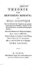 Theorie des sentimens moraux, suivie d'une dissertation sur l'origine des langues