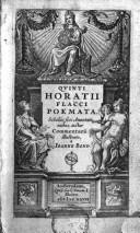 Quinti Horatii Flacci Poemata