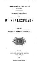 Sonnets - poëmes - testament