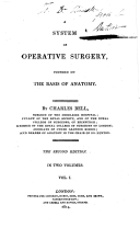 A system of operative surgery, founded on the basis of anatomy