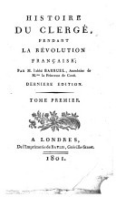 Histoire du clergé pendant la Révolution Française