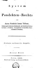 System des Pandecten-Rechts