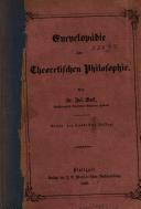 Encyclopädie der Theorischen Philosophie
