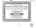 Mvsica divina di XIX avtori illvstri a IIII. V. VI. et VII. voci