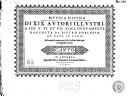 Mvsica divina di XIX avtori illvstri, a IIII. V. VI. et VII. voci
