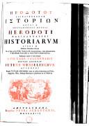Herodotou Halikarnesseos Historion logoi 9 epigraphomenoi Mousai