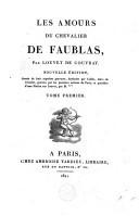 Les amours du chevalier de Faublas